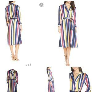 NWT Chelsea28 Striped Dress